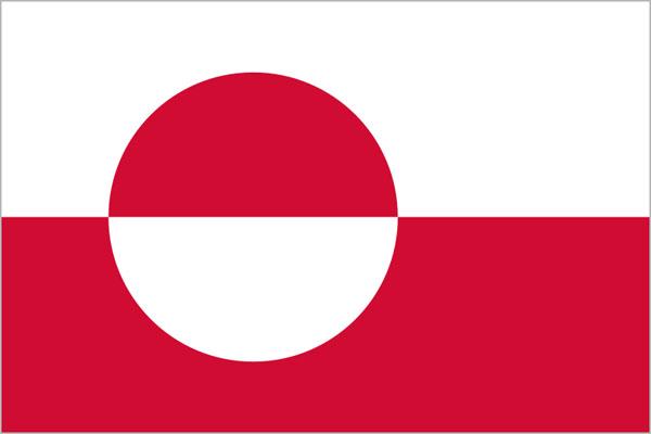 Curiosità sulla Groenlandia - La bandiera
