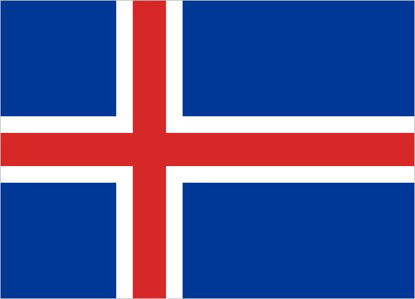 Bandeira-Islândia