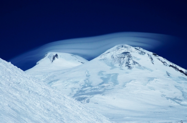 The Elbrus cap